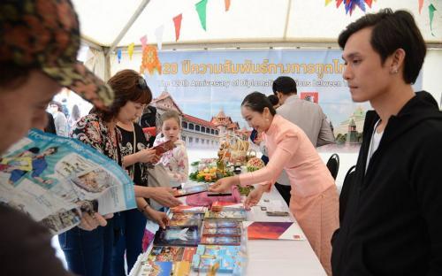 คณะผู้แทนกรุงเทพมหานครเข้าร่วมงาน Days of Bangkok in Moscow